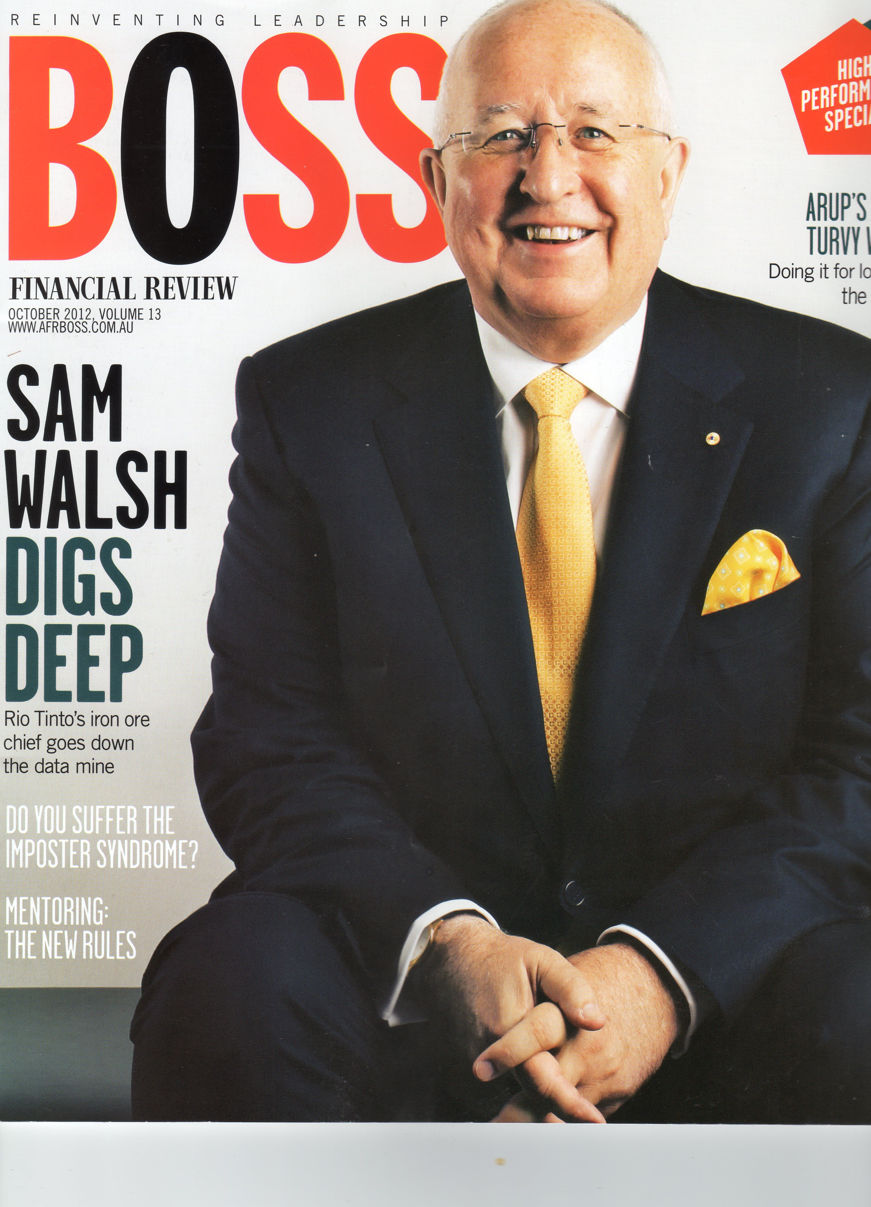 AFR Boss Front Cover
