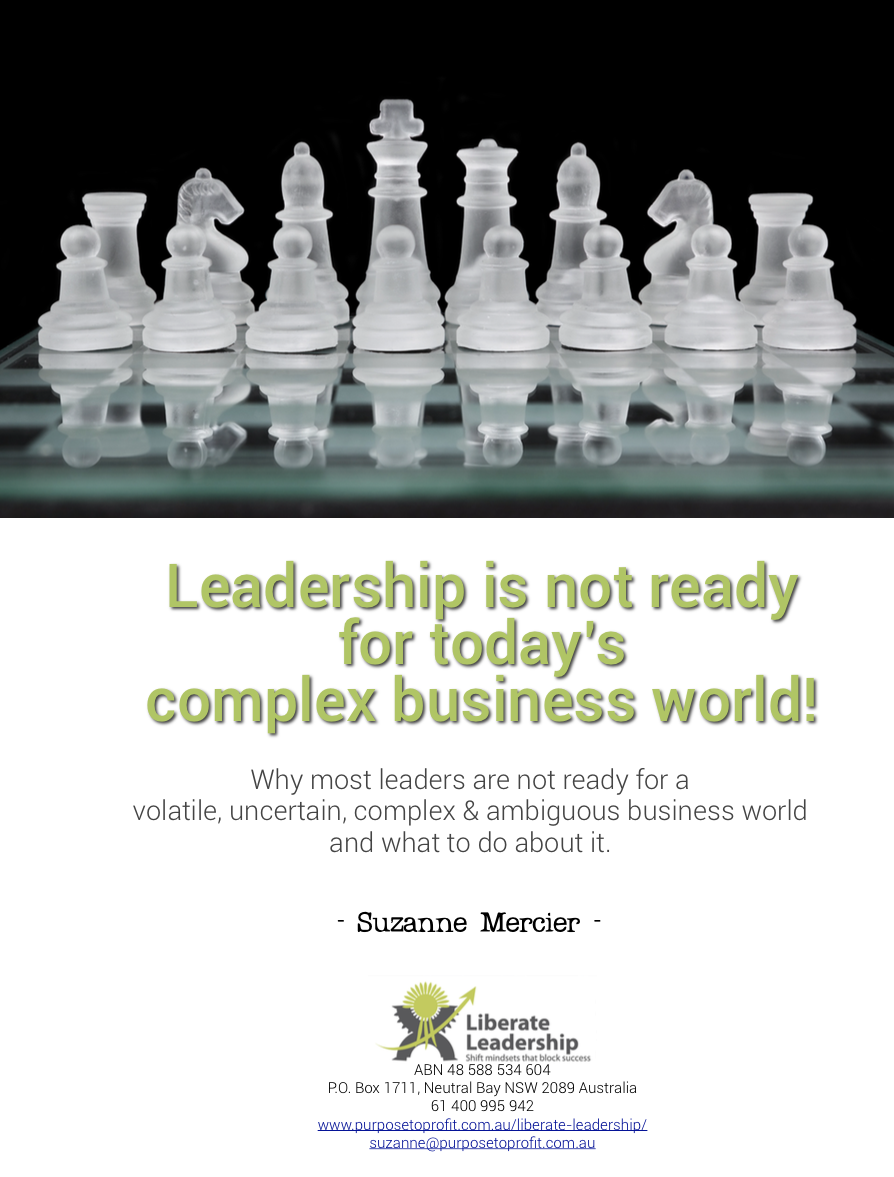 Leadership + VUCA cover