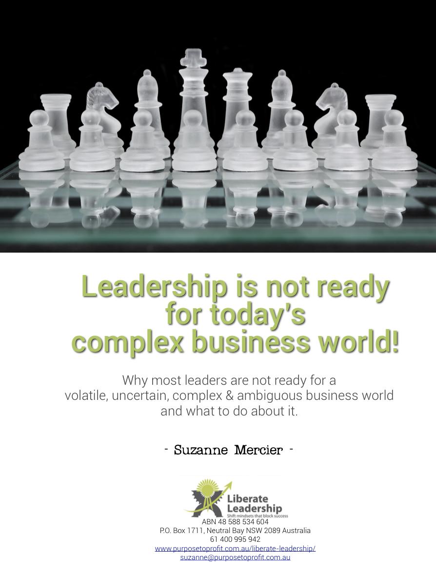 Leadership + VUCA cover