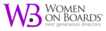 women on boards logo