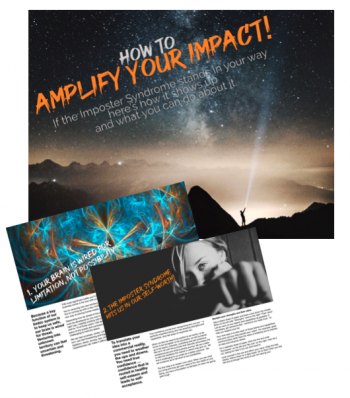 Lead Magnet How to Amplify your Impact